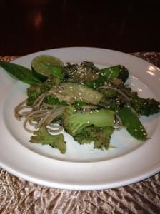 soba noodles veg